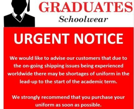 Graduates message
