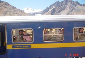 Peru Train Photo