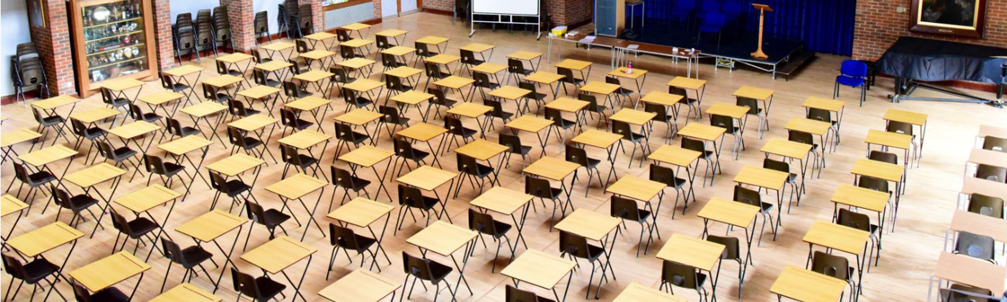 Exams header
